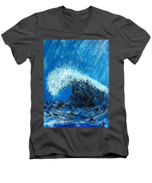 The Wave Men's V-Neck T-Shirt