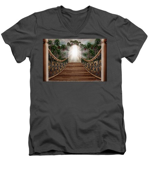 The Way And The Gate Men's V-Neck T-Shirt