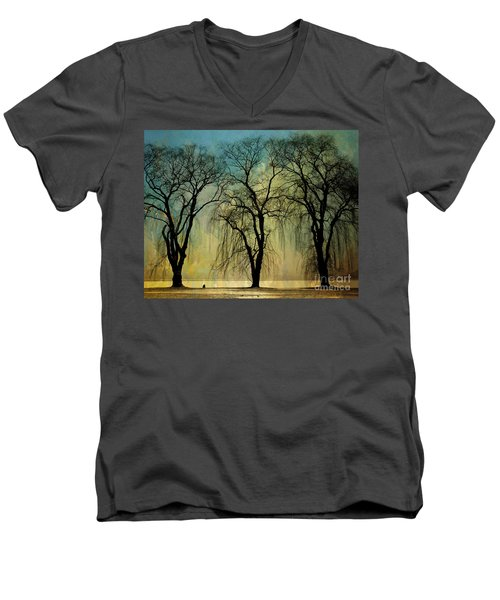 The Weeping Trees Men's V-Neck T-Shirt
