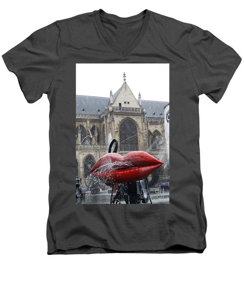 The Wet Kiss Men's V-Neck T-Shirt