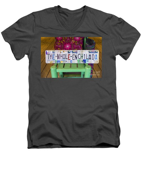 The Whole Enchilada Men's V-Neck T-Shirt