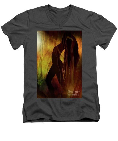 The Witches Dance... Men's V-Neck T-Shirt