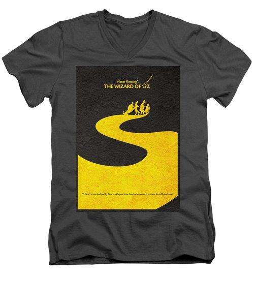 The Wizard Of Oz Men's V-Neck T-Shirt