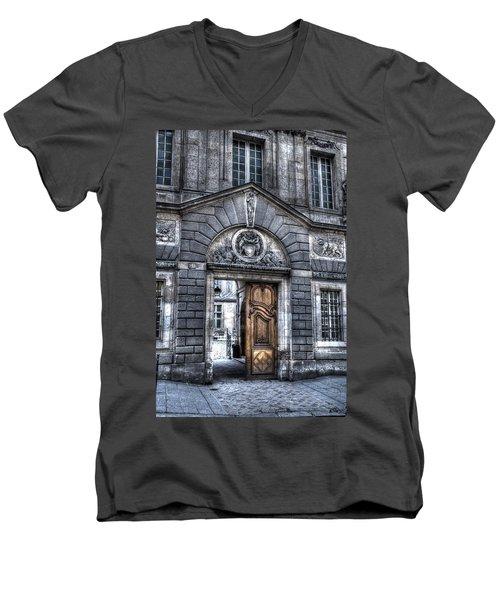 The Wooden Door Men's V-Neck T-Shirt