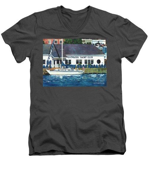 The Yacht Club Men's V-Neck T-Shirt