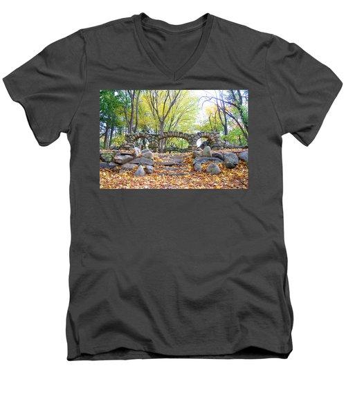 Theatre Reception Area Men's V-Neck T-Shirt