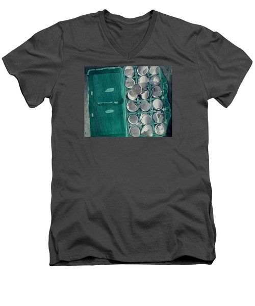 They Asked Me For Omelettes Men's V-Neck T-Shirt by Jeffrey S Perrine