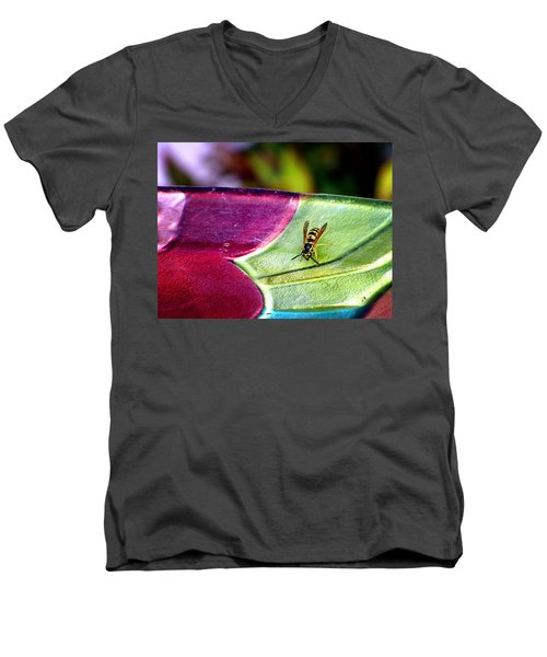 Thirsty Men's V-Neck T-Shirt by Greg Simmons