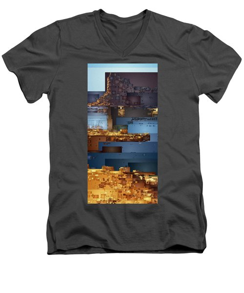 This Is Lake Powell Men's V-Neck T-Shirt by David Hansen