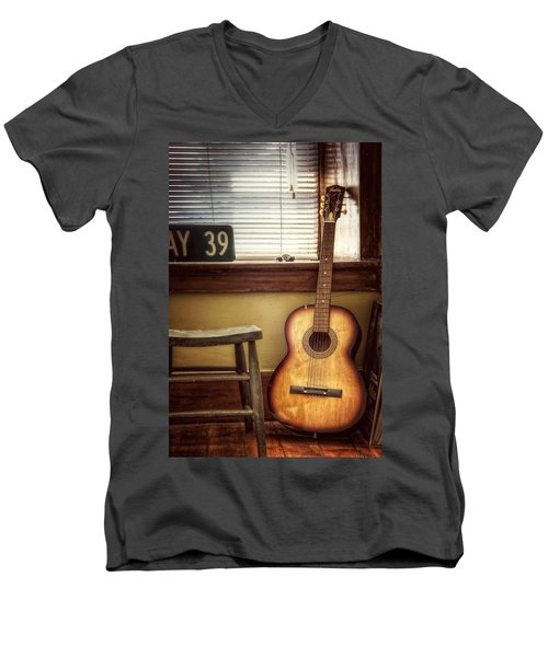 This Old Guitar Men's V-Neck T-Shirt