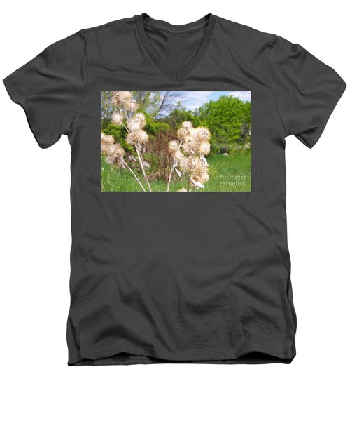 Thistle Me This Men's V-Neck T-Shirt