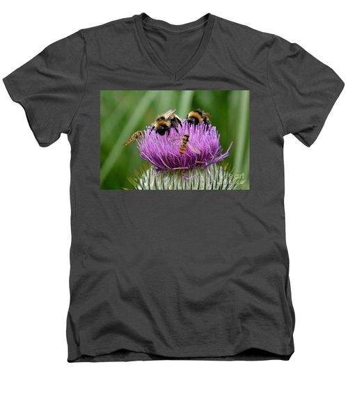 Thistle Wars Men's V-Neck T-Shirt