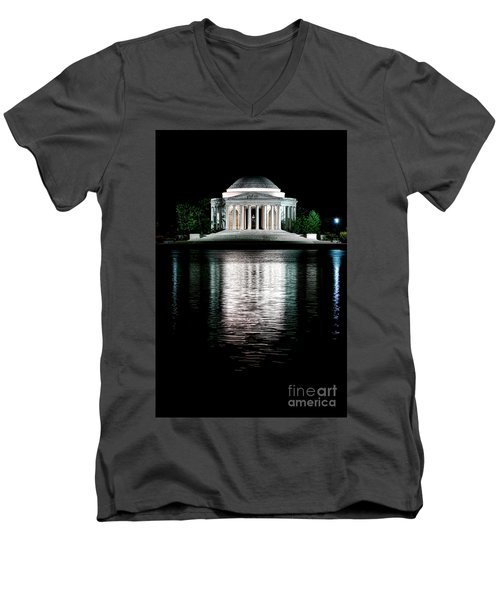 Thomas Jefferson Forever Men's V-Neck T-Shirt
