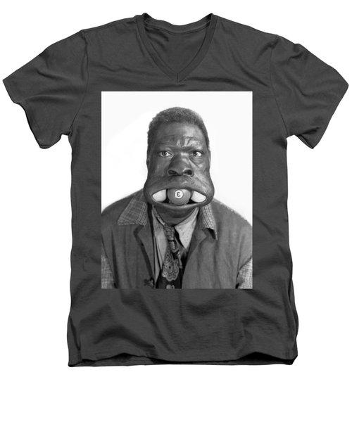 Three Ball Charlie Men's V-Neck T-Shirt