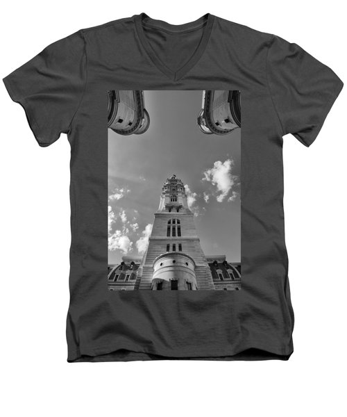 Three Points Of Justice Men's V-Neck T-Shirt