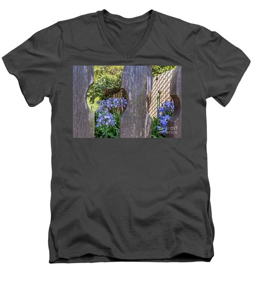 Through The Fence Men's V-Neck T-Shirt