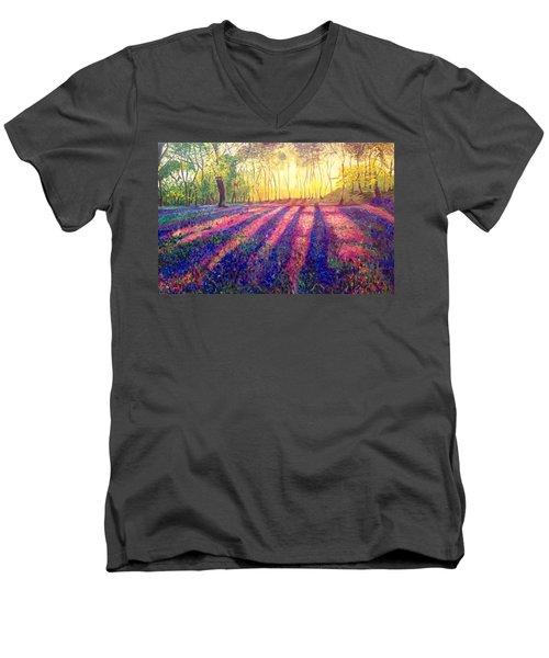 Through The Light Men's V-Neck T-Shirt