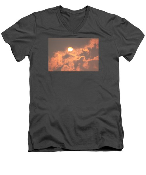 Through The Smoke Men's V-Neck T-Shirt