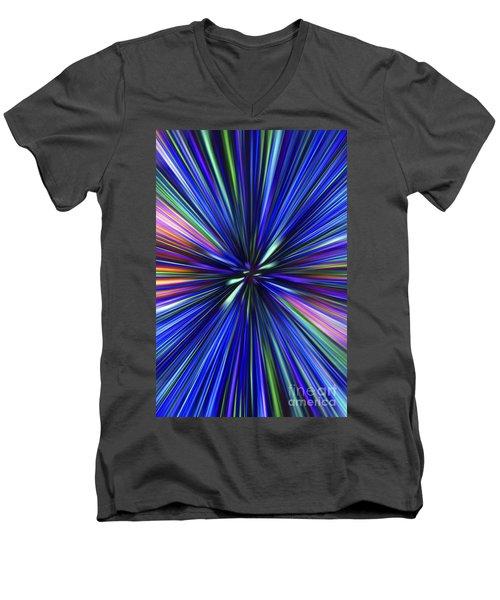 Through The Wormhole.. Men's V-Neck T-Shirt