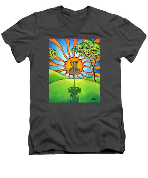 Throw Into The Light Men's V-Neck T-Shirt