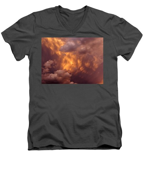 Thunder Clouds Men's V-Neck T-Shirt