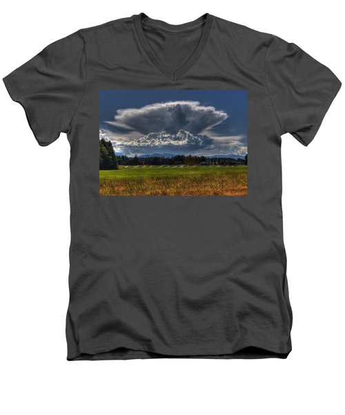 Thunder Storm Men's V-Neck T-Shirt
