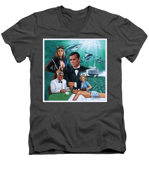 Thunderball Men's V-Neck T-Shirt