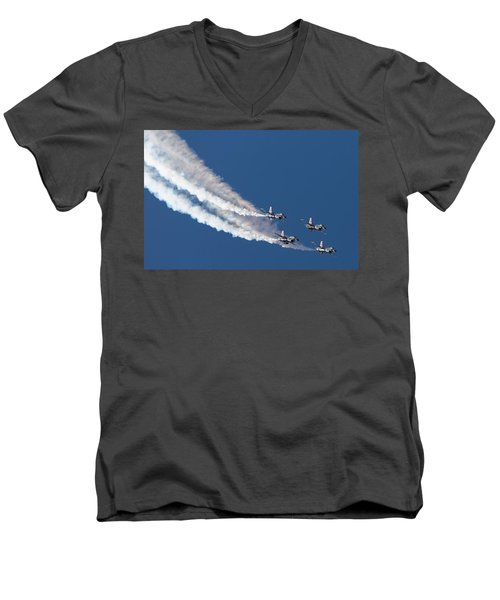 Thunderbird Loop Men's V-Neck T-Shirt