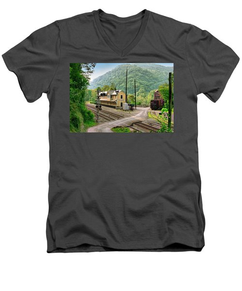 Thurmond After The Rain Men's V-Neck T-Shirt