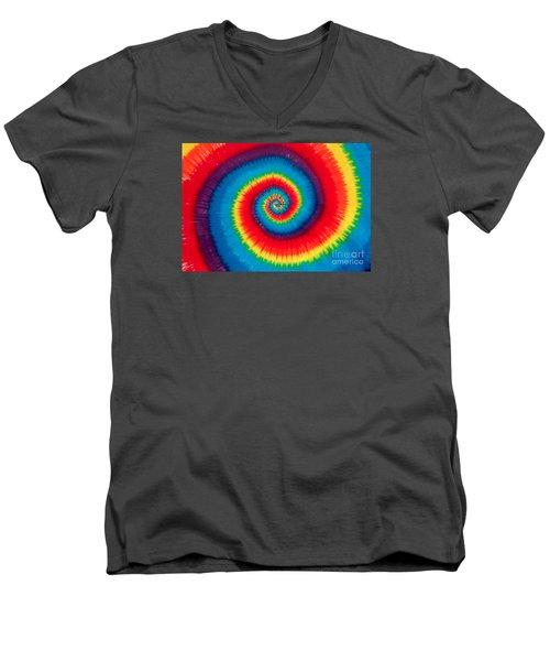 Tie Dye Men's V-Neck T-Shirt