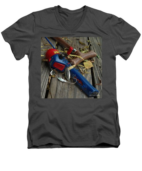 Men's V-Neck T-Shirt featuring the photograph Ties That Bind by Peter Piatt