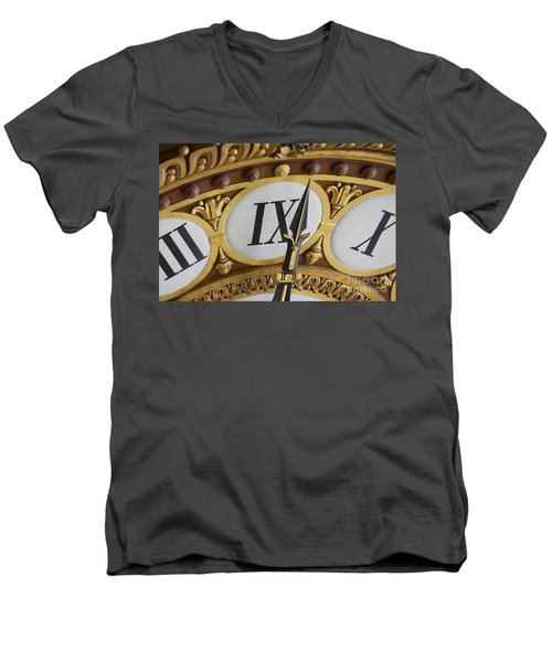 Time Goes By... Men's V-Neck T-Shirt