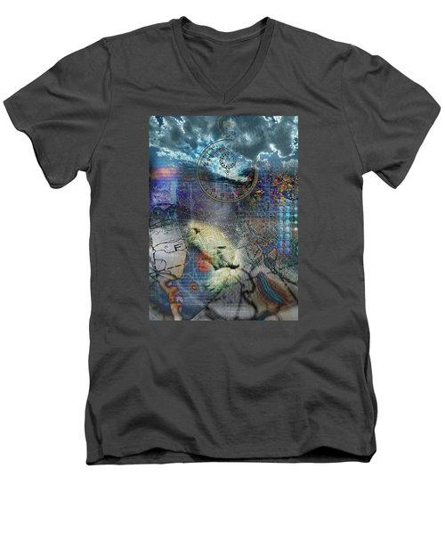 Time Men's V-Neck T-Shirt