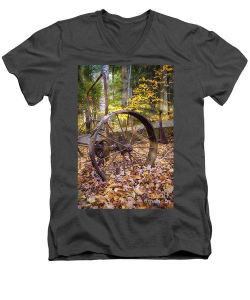 Time Gone By Men's V-Neck T-Shirt by Alana Ranney