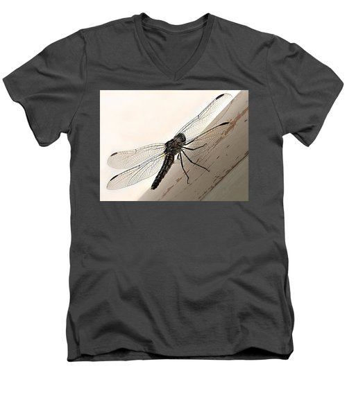 Tiny Magnificence  Men's V-Neck T-Shirt by Micki Findlay