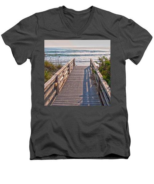 To The Beach Men's V-Neck T-Shirt