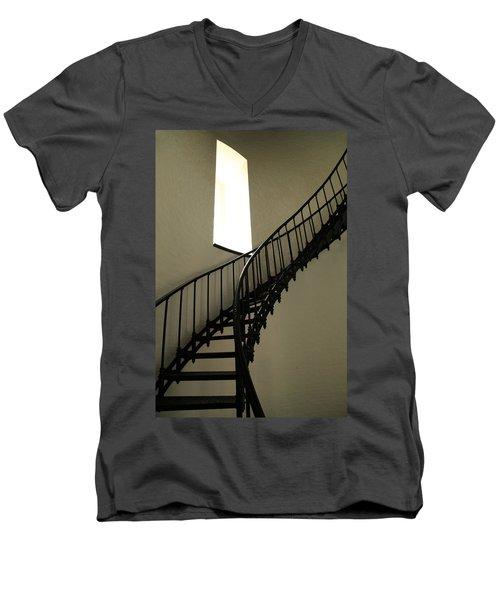 To The Light Men's V-Neck T-Shirt by Roupen  Baker