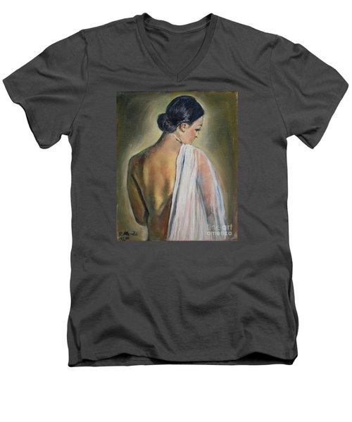 To The Shower Men's V-Neck T-Shirt