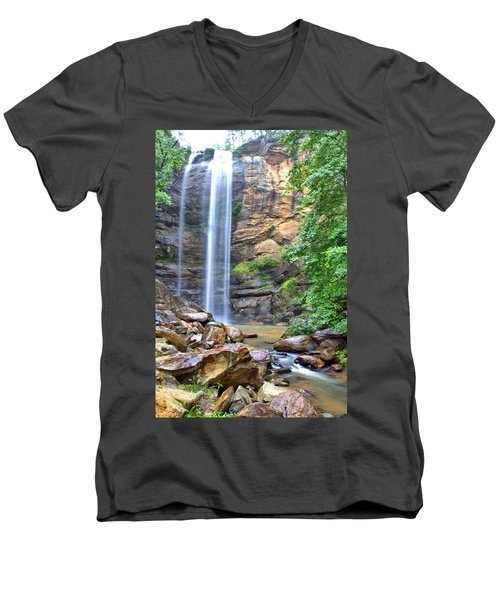 Toccoa Falls Men's V-Neck T-Shirt