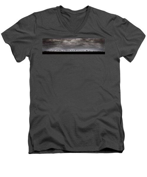 Together We Shall Stand Men's V-Neck T-Shirt
