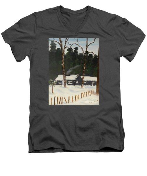 Tonys House In Sweden Men's V-Neck T-Shirt