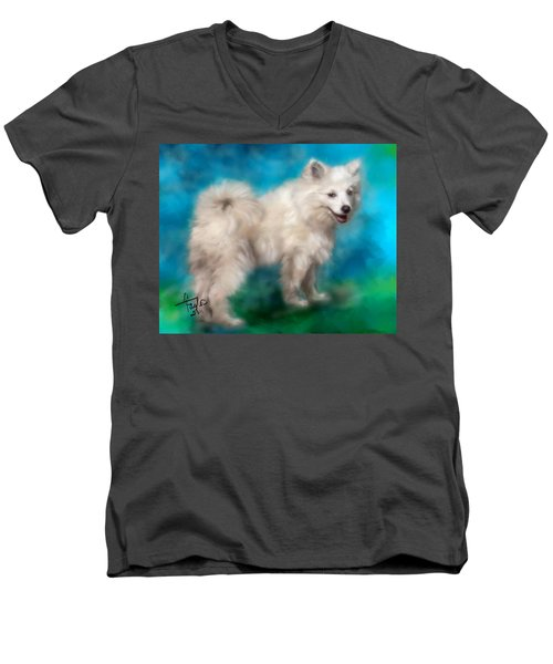 Too Sexy For My Fur Men's V-Neck T-Shirt