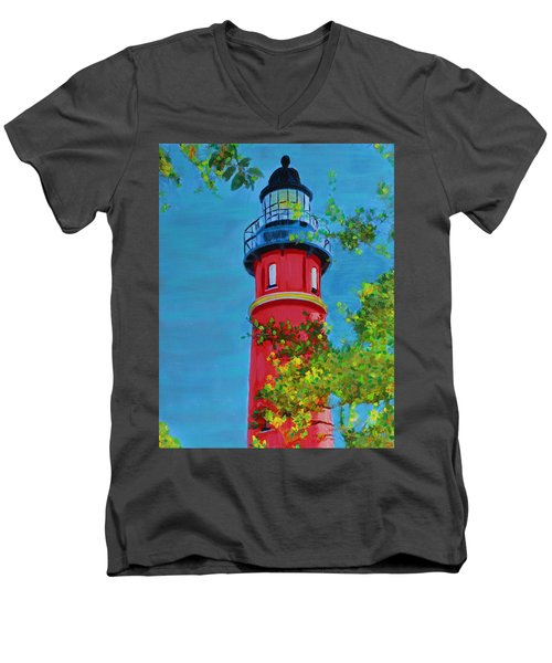 Top Of The House Men's V-Neck T-Shirt