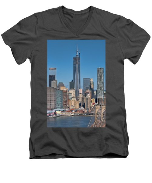 Topping Out Men's V-Neck T-Shirt