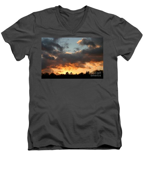 Tormented Sky Men's V-Neck T-Shirt