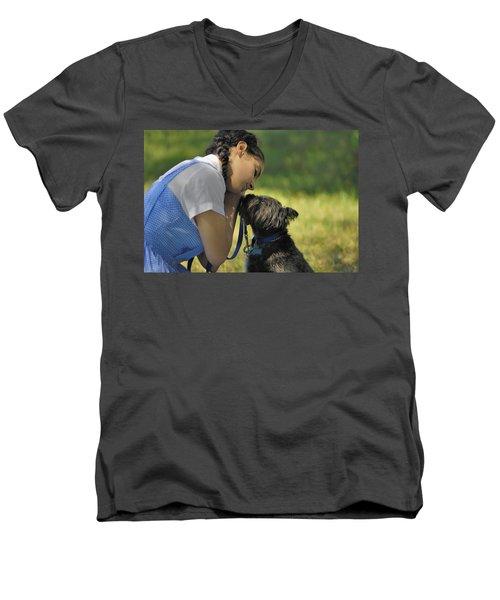 Toto This Isn't Kansas Anymore Men's V-Neck T-Shirt