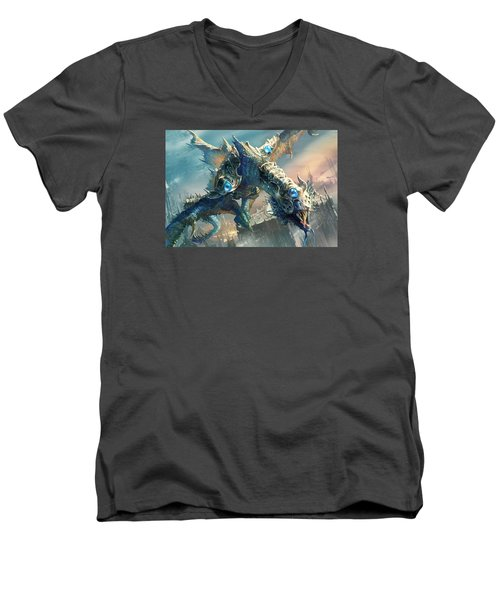 Tower Drake Men's V-Neck T-Shirt