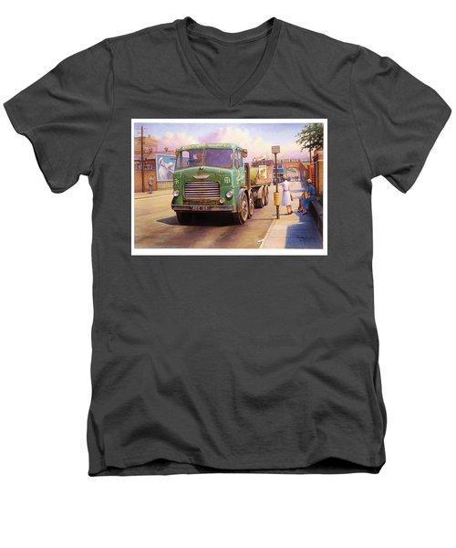 Tower Hill Transport. Men's V-Neck T-Shirt