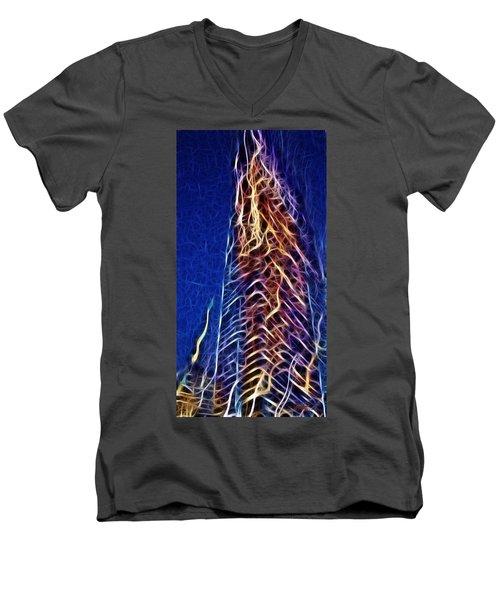 Towering Inferno Men's V-Neck T-Shirt