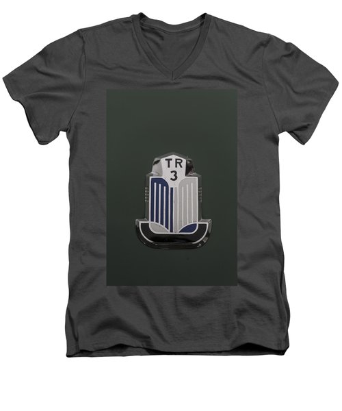 Tr3 Hood Ornament 2 Men's V-Neck T-Shirt